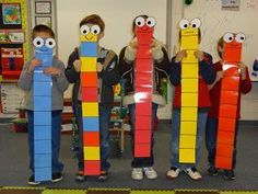 Super-Sized Subtraction- life sized base ten blocks to act out subtracting multiples of ten