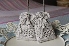 Crochet Sachet, Crochet Pouch, Crochet Gifts, Free Crochet, Knit Crochet, Knitting Projects, Crochet Projects, Lavender Bags, Crochet Wedding