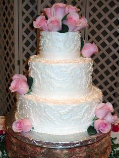 Wedding Cake Pictures by Glorious Desserts