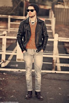 Great autumn outfit - find similar products for this combination in our shop @ BootsJeansandLeathers.com