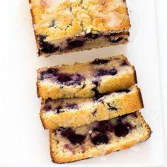 Easy Lemon Blueberry Bread. Super moist, tender and loaded with blueberries! Perfect for breakfast or dessert!