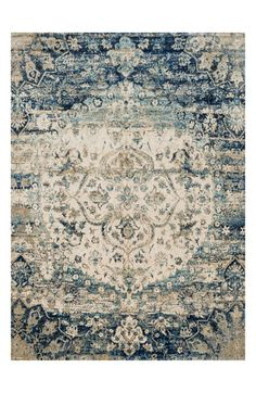 Free shipping and returns on Loloi 'Anastasia' Area Rug at Nordstrom.com. A weathered, watercolor-inspired finish refines a medallion-patterned area rug that adds vintage sophistication to any space.