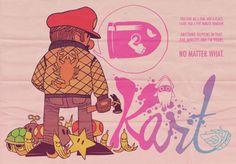 Mario Cart Drive illustration