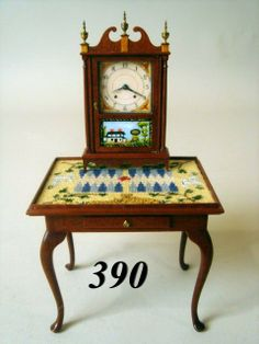 Occasional Table & Clock Paul Runyon