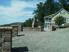 Fancy Gap, Virginia Design and install by Brown Landscaping & Construction, Inc