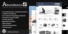 """Check out this great #themeforest item """" Abundance eCommerce Business Theme http://themeforest.net/item/abundance-ecommerce-business-theme/759562?sso?WT.ac=category_item_1=category_item_author=Kriesi=25EGY"""