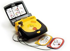 Sudden cardiac arrest can happen to anyone. An Automated External Defibrillator (AED) can save someone's life. Get one today and save a life. Automated External Defibrillator, Canadian Red Cross, Ventricular Tachycardia, Heart Rhythms, Marie Curie, Emergency Response, First Aid, Studio, Life