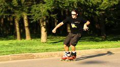 Extreme Academy - Inline skating - trick: Parallel slide