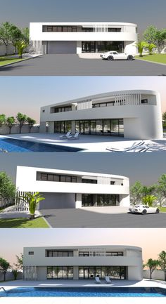 450m2 5 bed / 4 bath contemporary house plan from Bespoke-homes.com Home Design Plans, Plan Design, Contemporary House Plans, Bespoke, Modern Design, Bath, How To Plan, Inspiration, Architecture