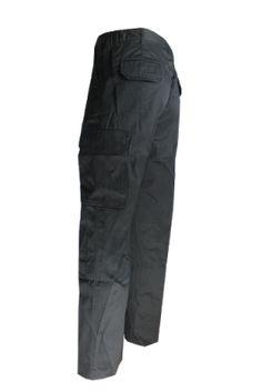 Navy Blue 65//35 by REED Co Work Uniform Industrial CARGO Pants w// FLEX Waist