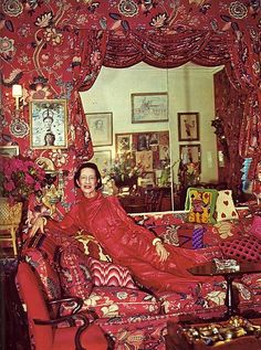 "I'm a great believer in vulgarity—if it's got vitality. A little bad taste is like a nice splash of paprika. We all need a splash of bad taste—it's hearty, it's healthy, it's physical. I think we could use more of it. No taste is what I'm against."" Diana Vreeland."