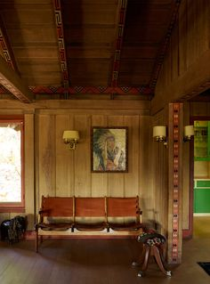 A historic Craftsman house in Ojai, design by Commune. Danish midcentury meets the American West. Via desire to inspire.