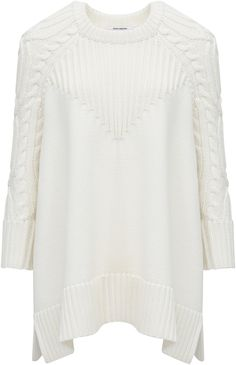 Paco Rabanne Cable knit sweater Image 0