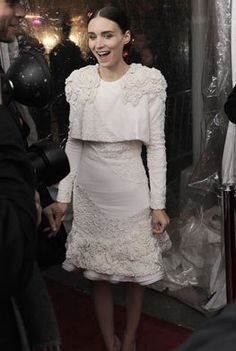 rooney mara/ LOVE the dress!