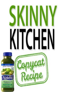 (NEW RECIPE) Naked Juice Green Machine (Copycat) I'm very excited to share my home version. It tastes fantastic! Each serving has 137 calories, 0g fat and 4 Weight Watchers POINTS PLUS. http://www.skinnykitchen.com/recipes/naked-juice-green-machine-copycat/