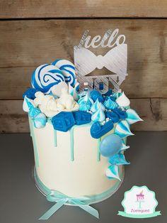 Babyshower Boy Drip Cake