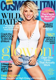 Kaley Cuoco is smoking hot on the cover of Cosmo where she opens up about her divorce! | toofab.com