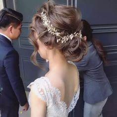 coronas tocados bandas novia vintage cristales elegantes