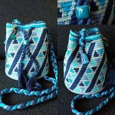 Mochila bag MINI Aqua/blue