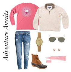 """""""Adventure Awaits"""" by southernshirt on Polyvore featuring H&M, L.L.Bean, Emporio Armani, Ray-Ban, Christian Dior and southernshirt"""