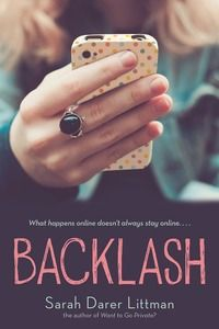 Backlash by Sarah Darer Littman Online bullying. What happens to the family that was bullied and what happens to the family that did the bullying? Very good read. Ya Books, Good Books, Books To Read, Library Books, Realistic Fiction, Young Adult Fiction, Books For Teens, My Escape, Book Lists