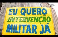 Galdino Saquarema  DESABAFO: Pessoas vestidas de verde amarelo pedindo a volta da ditadura ...