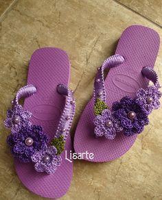 chinelo-decorado-com-croche-chinelo-decorado.jpg (968×1200)