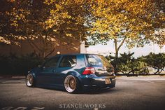 The Long Way Around - Mike Houck's AWD Turbo-Diesel MKIV VW GTi - Stance Works