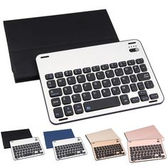 32.97$  Watch here - http://aliwkw.shopchina.info/go.php?t=32800843103 - High Quality Aluminum Alloy Split Bluetooth Wireless Keyboard with Leather Case Cover for iPad mini123 Tablet Protector 32.97$ #aliexpress