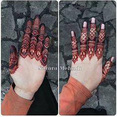 Finger details Which is your fav - 1 or Henna Artist: Finger Henna Designs, Henna Art Designs, Stylish Mehndi Designs, Mehndi Designs For Fingers, Latest Mehndi Designs, Wedding Mehndi Designs, Hena Designs, Nail Designs, Khafif Mehndi Design