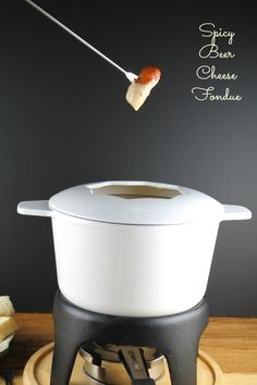 Spicy Beer-Cheese Fondue from Miss in the Kitchen