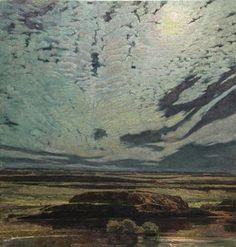 Stillness in Moonlight, George Carlson