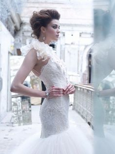 Lazaro Wedding Dresses Photos on WeddingWire