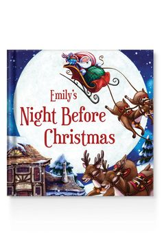 They'll never forget the book that spoke to them. This personalized 'Night Before Christmas' book is sure to wow even the littlest of holiday guests.