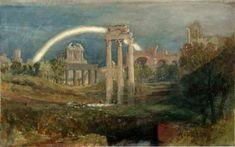 W. TURNER - Roma con l'arcobaleno 1819