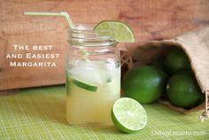 A super easy and delicious Margarita recipe via LivingLocurto.com