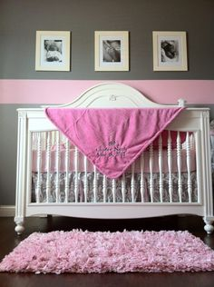 Charlee's Pink and Gray Oasis with a Touch of Antique