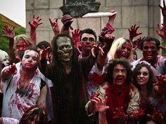 Zombies Walk/Google Job