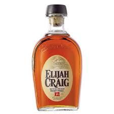 ELIJAH CRAIG 12 YEAR OLD:  Nose, quite thick and full. There is a beautiful sweetness with notes of toasty oak, toffee, spicy stewed fruits, a touch of resin and a lovely crème anglaise character.  Palate, full and sublimely smooth with notes if stewed Bramley apples, malmsey, a touch of aniseed and a hint of spice.  Finish, good length with toasty oak notes and a creamy sweetness.