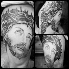 Cristo tattoo. En lo artesanl tattoo buenos aires argentina