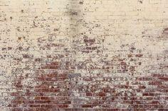 Long Since White Brick Wall - Wall Mural & Photo Wallpaper - Photowall