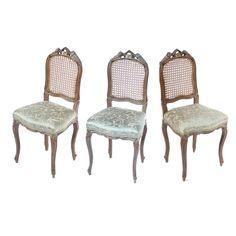 Three Century French Oak Ballroom Chairs - The elegance of living