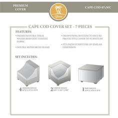 CAPECOD-07c Protective Cover Set