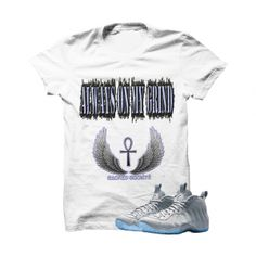 Always On My Grind Wolf Grey Foams White T Shirt. The Always On My Grind 2353e4748