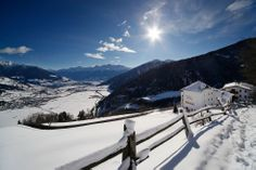 Panoramablick im Winter vom Hotel Gerstl