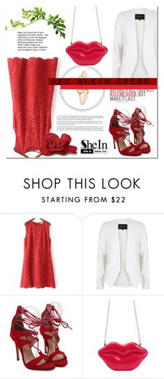 """SHEIN 1 (3)"" by mini-kitty ❤ liked on Polyvore featuring River Island and shein"