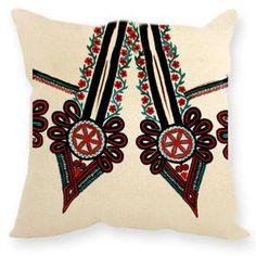 Poduszka ludowa Parzenica - poduszki dekoracyjne, poduszka dekoracyjna, poduszka ozdobna, obrazy na płótnie