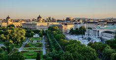Ausztria fővárosa: BÉCS (Vienna, Wien)