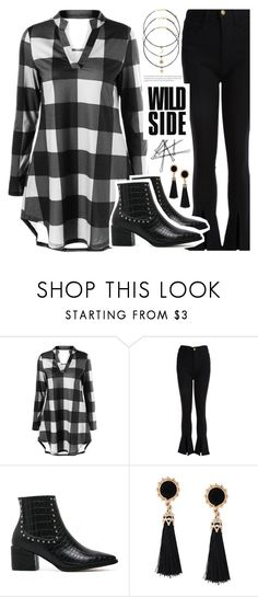 """""""Rad in Plaid"""" by pastelneon ❤ liked on Polyvore"""