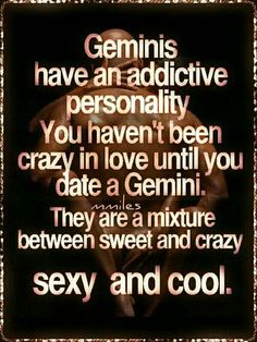 ♊️ >////< Idk but hopefully it's true for the rest of you Geminis